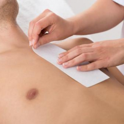 Waxing - Chest wax for men